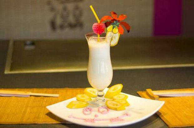 Рецепты коктейлей с фото из банана