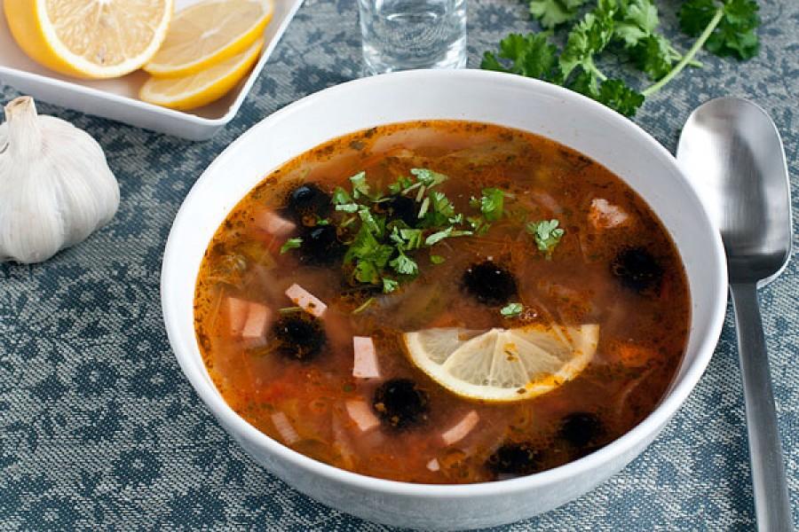 Солянка рецепт с фото пошагово